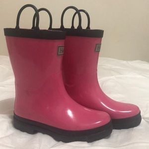 Youth Size 13 Rain boots